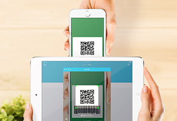 QRコード決済に対応!のイメージ